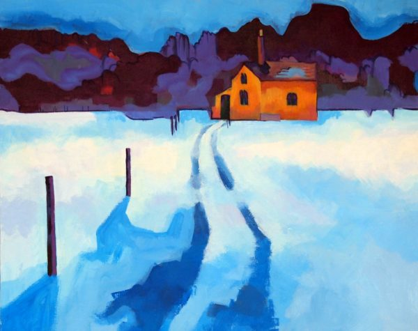 20206 || 3773 || Haggs Cottage in Winter
