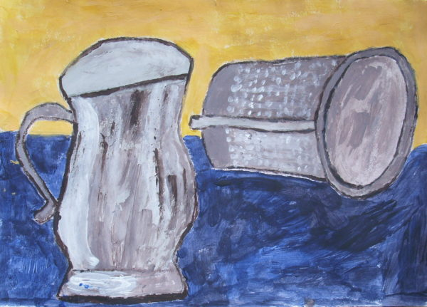 Two Tankards by Phyllis