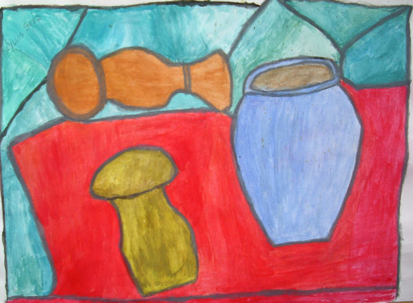 Still Life with Pepper Pot and Salt by Phyllis