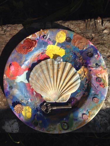 artists plate by jo martin