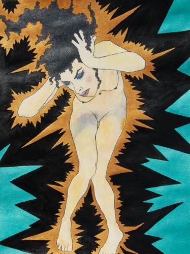 Psychic Shock '1' by Pauline St Marie