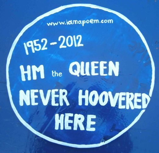 Queen Never Hoovered by Vince Laws