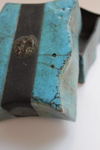 Dot Raku Box by sian mather