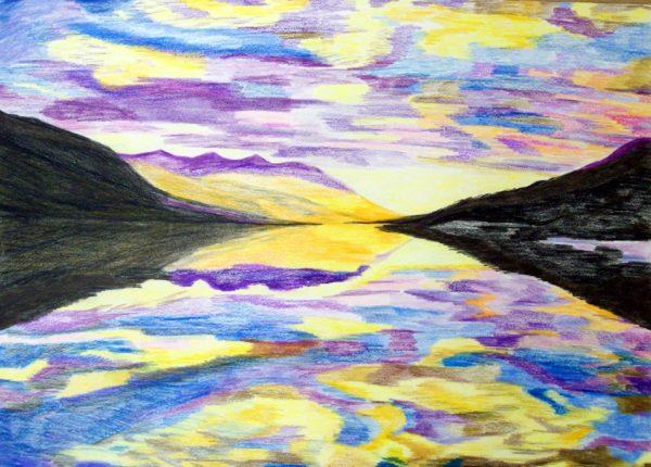 Lake View by Helen Shield