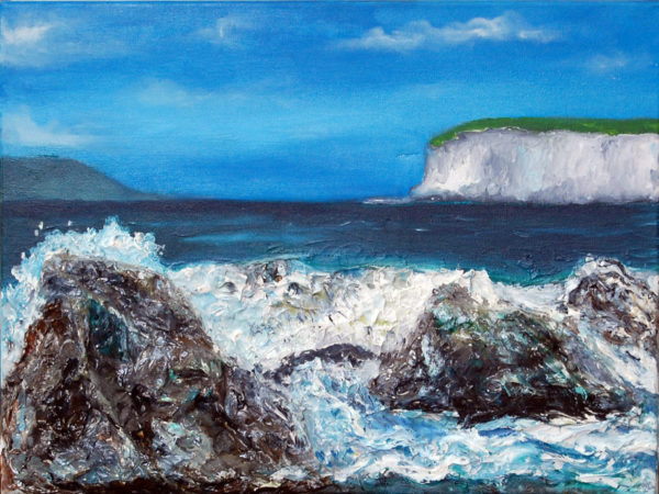 Rocks by the Sea by neville bottomley