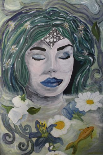 Blue Lips by Ruth Hedgecock