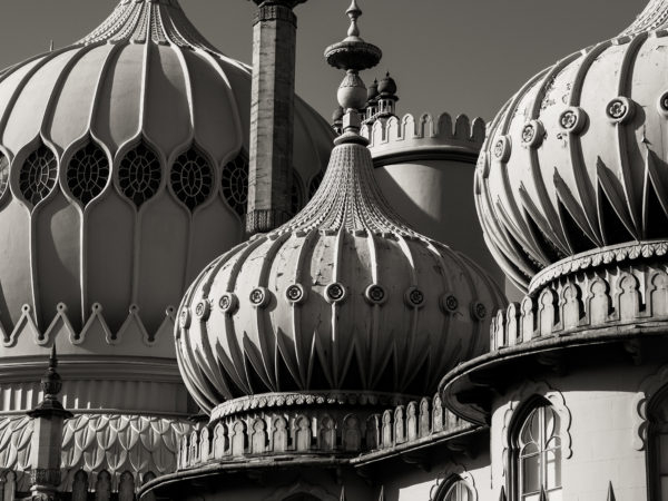 brighton pavilion by london rd lads.       street photography.