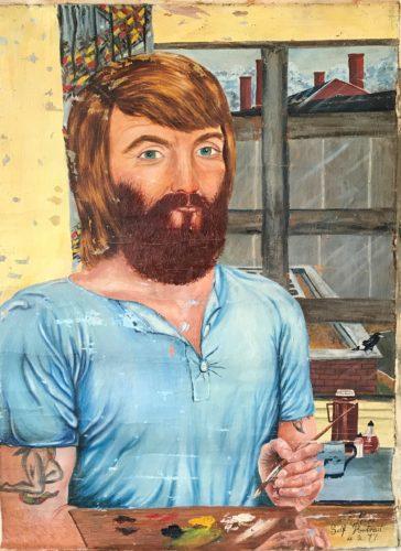 Self Portrait by Jeff Kerr