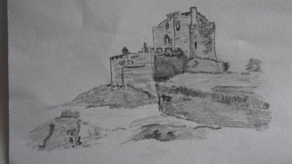 Scottish Castle by Susan Westwood