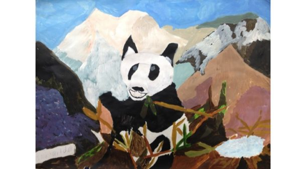 I hope they will bring more pandas back into the wild. by My oil paintings