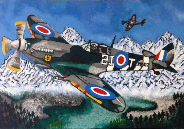 Spitfire by Sarah Jane McColl
