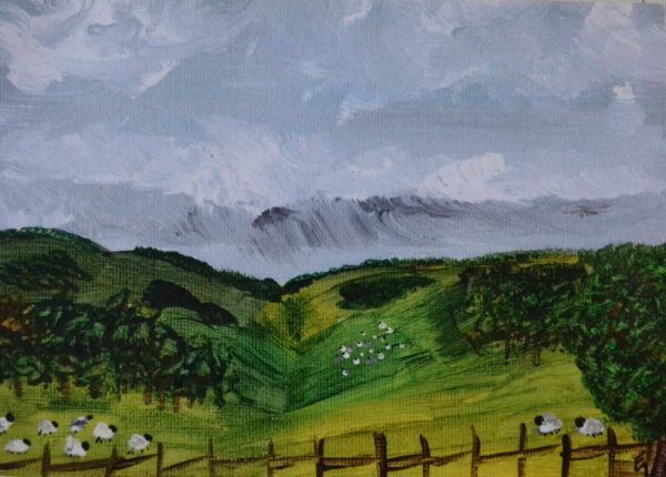 Storm over Goodwood by Emma Gibbens