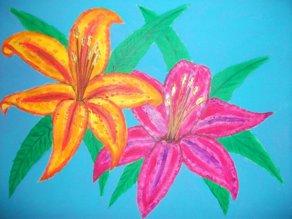 Lilies by Suzee