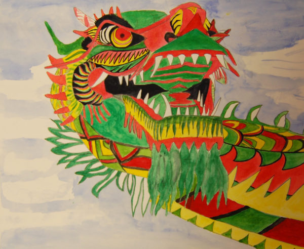 Chinese Dragon by Suzee