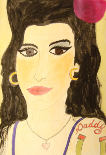 Amy Winehouse by Suzee