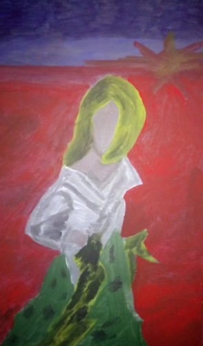 The Girl With No Face by Gaye Fay