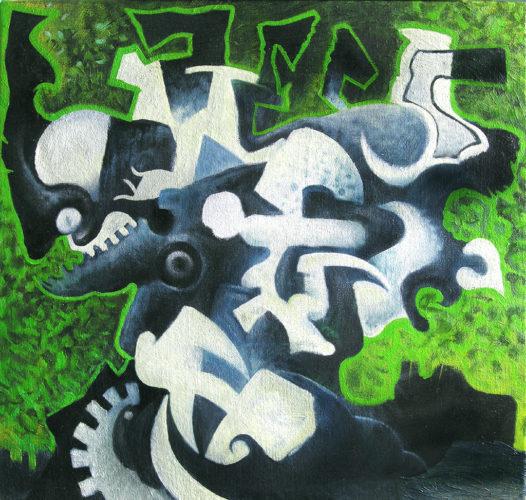 The Tattooed Pig. 2010. by Flintknife