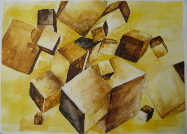 Tobacco Stain Cubes by SFS