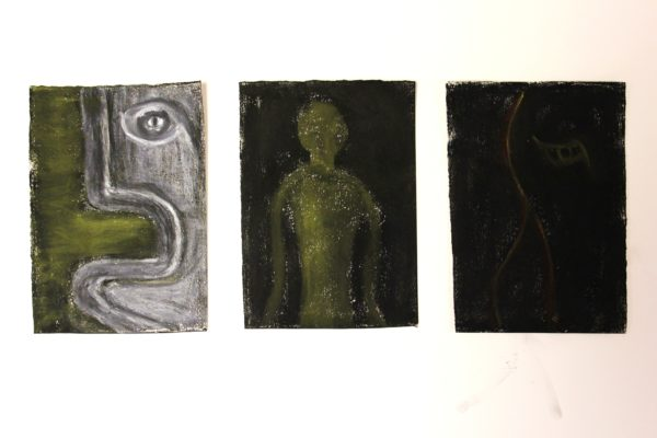 Something Triptych by TY