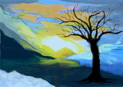 tree_landscape by Amanda Hamilton