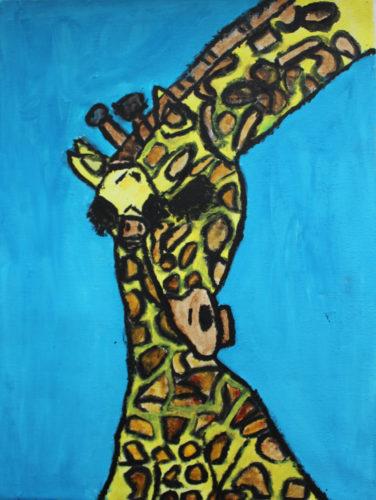 Two Giraffes by Jordan Johns