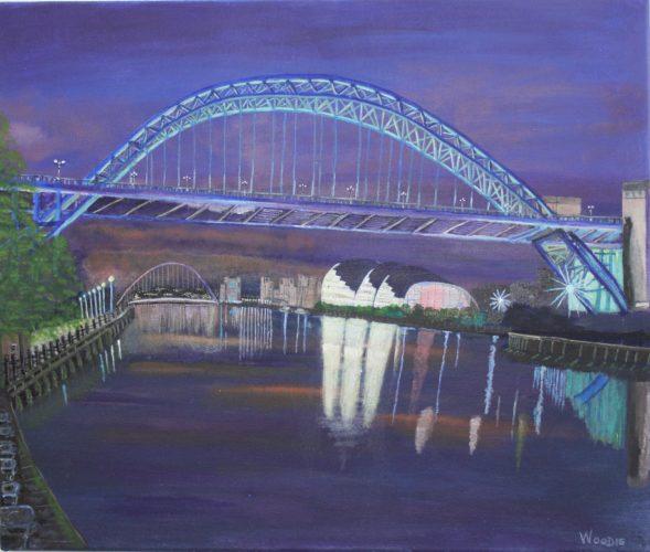 Tyne Bridge by Woodie