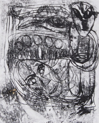 Untitled (1) by Yassin Zelestine