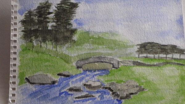 Babbling Brook by Susan Westwood