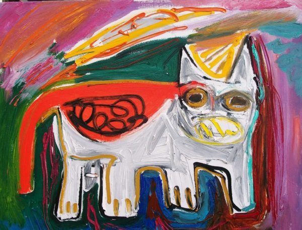 White Red Cat by Jacqueline Jones