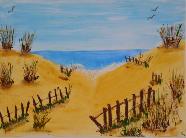 Wittering Dunes by Emma Gibbens