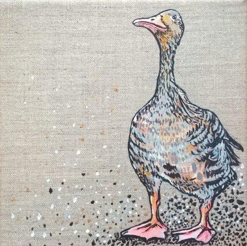 wedding goose by unbritishbirds