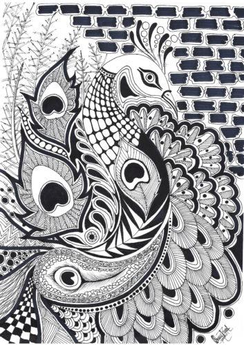 Peacock by HARYPRAVEEN GANESHAMOORTHY