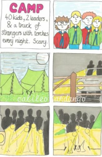 Camp Creepy by SID #1