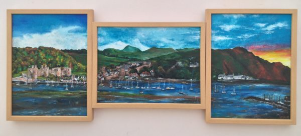 Conwy: A view from Deganwy by Lucy Price