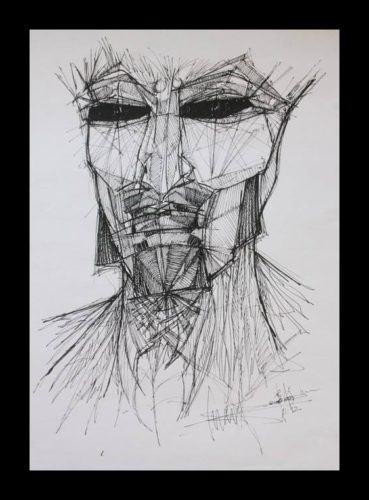 Self Portrait by Stuart Milburn