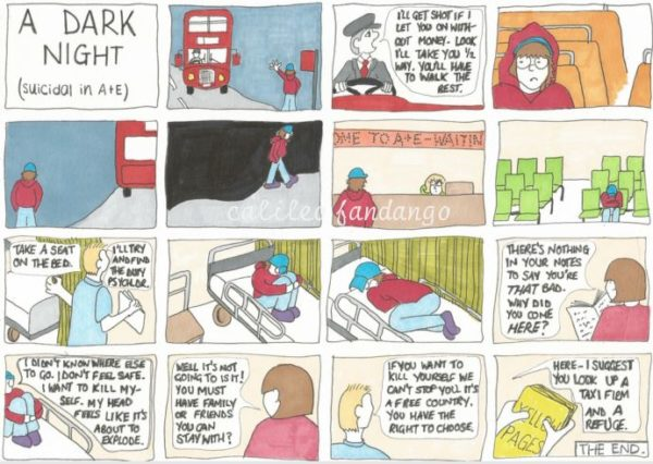 A Dark Night (Suicidal In A&E) by Medical Scrutiny