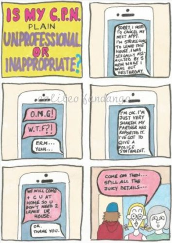 Inappropriate Professional by Little Me #1
