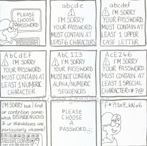 Password by Disconnected