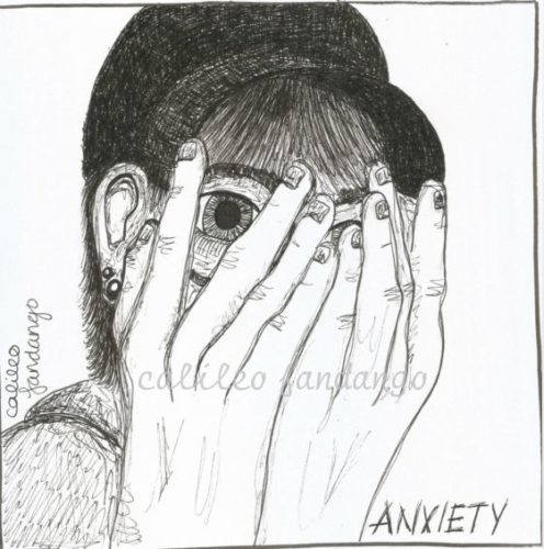 Anxiety by Social Isolation