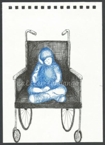 Wheelchair #2 by Little Black Book