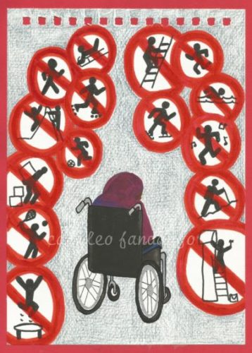 Wheelchair #3 by Babysitter #2