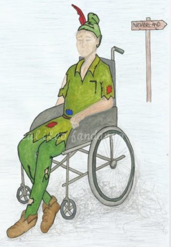 Wheelchair #5 by Little Black Book