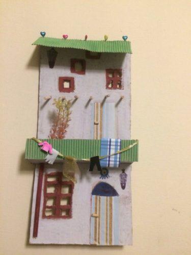 3D house by Iraqiwomenartwar المراة العراقية ،الفن و الحرب