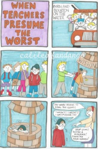 When Teachers Presume The Worst by Jeff #5