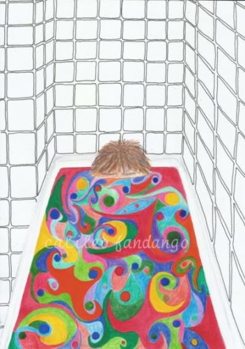 Bathtime Psychedelics by Little Me #1