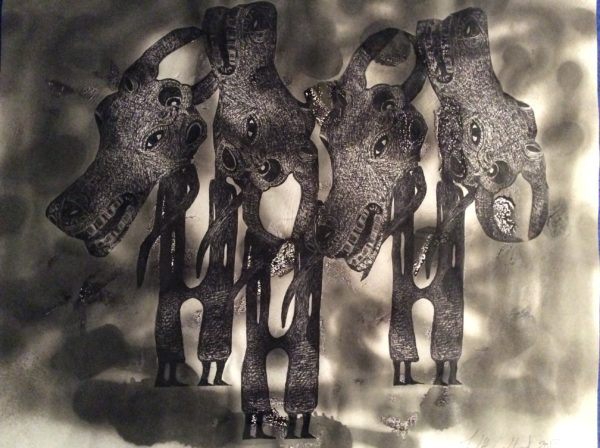 The Baffallo series of Art by Africian dream 2