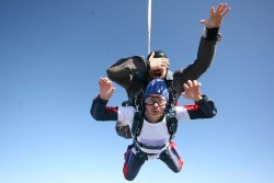 Photo of skydive