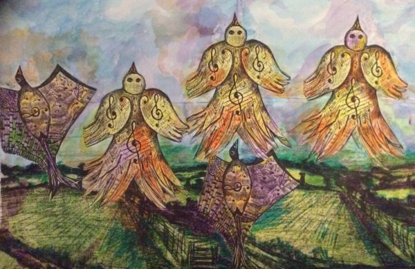 The Larks ascending by The Baffallo series of Art