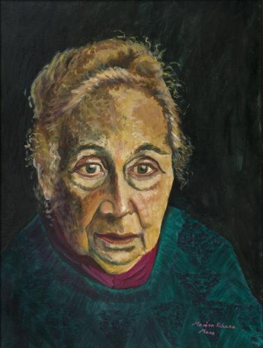 Portrait of Sonia Morton by Marisa Rehana Mann