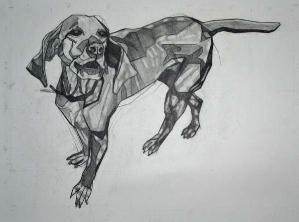 Hungarian Vizsla by Dynamic Linear Space London Series 1
